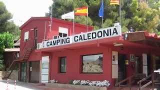 Camping Caledonia en Tamarit ( Tarragona ) . Fotos