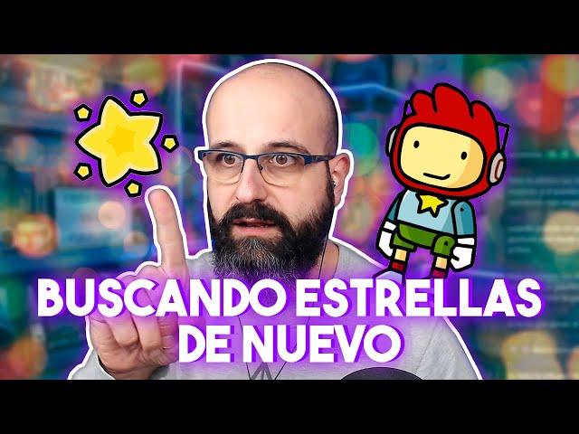 ✏️ BUSCANDO ESTRELLAS DE NUEVO - Scribblenauts Unlimited | La red de Mario