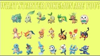 Which Starter Pokemon Are You?