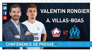 VIDEO: LOSC  OM - La conférence de presse de Valentin Rongier & d'André Villas-Boas