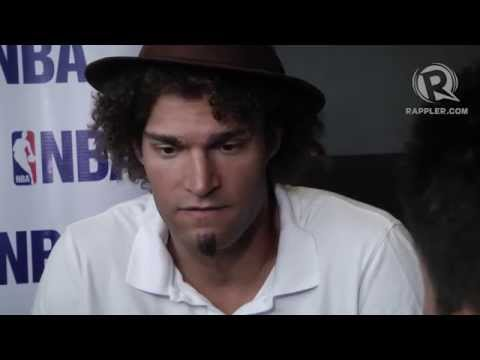 Robin Lopez on the Trailblazers, helping out in PH