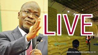 Live: Hotuba Ya Rais Magufuli Kiwanda Cha Sukari Kagera