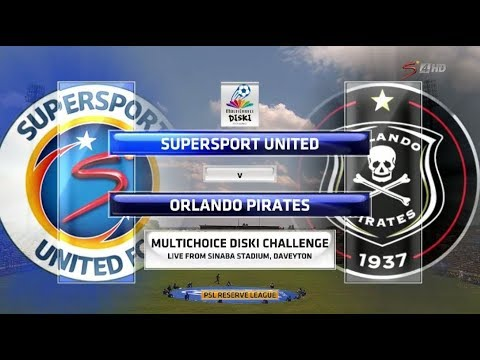 MultiChoice Diski Challenge 2017/2018 - SuperSport United vs Orlando Pirates