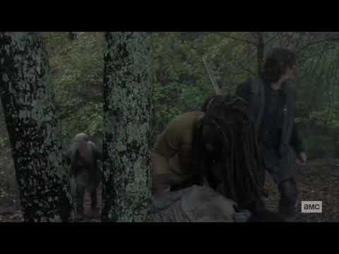 The Walking Dead S9xE15 - PIKES DEATH SCENE