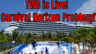 Travelling with Bruce is Live! Carnival Horizon Engine Problems