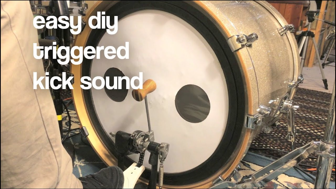 drum hack how to get a triggered kick sound without a trigger youtube. Black Bedroom Furniture Sets. Home Design Ideas