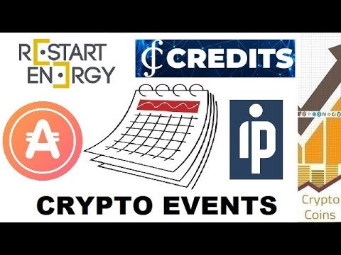 Upcoming Cryptocurrency Events (1st - 6th of May) - Looking for Good Investments and Pumps