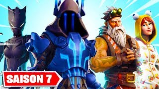 THE SKINS OF THE COMBAT OF SAISON 7 ON FORTNITE ...