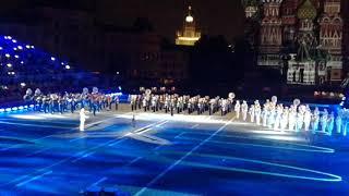 10th International Military Music Festival Spasskaya Tower. Mireille Mathieu Мирей Матью
