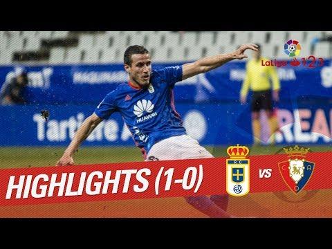 Resumen de Real Oviedo vs Osasuna (1-0)