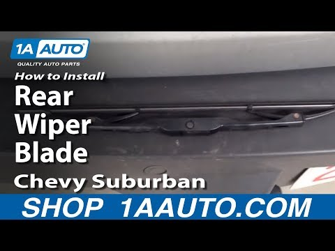 Full download how to install replace rear window wiper for 2000 suburban window regulator