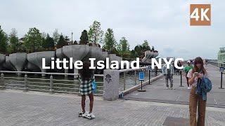 4K Little Island NYC June 2021 walk around