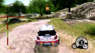 WRC 3 Gameplay PC - Rally Argentina - Citroën DS3 WRC - HD