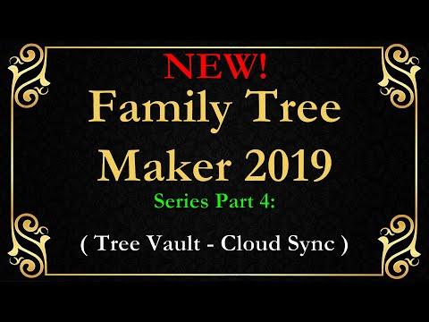 FTM 2019 Family Tree Maker Tree Vault and Sync