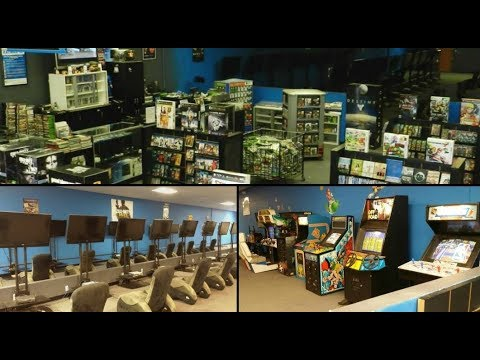 Play N Trade Store Tour Game Room Tour Game Hunting Nintendo