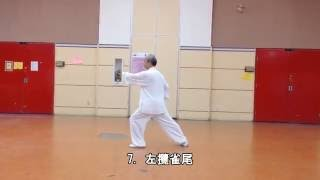 24式太極拳背向 (2013.09.01)