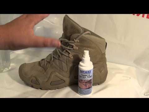 водоотталкивающая пропитка для обуви