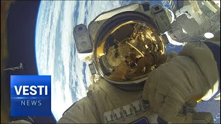 Russian Spacewalk! Never Before Done Operation to Repair Soyuz Kicks Off in Zero Gravity!