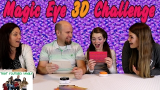 Magic Eye 3D Challenge / That YouTub3 Family