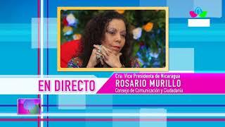 Comunicación con la Vicepresidenta Compañera Rosario Murillo, 16 de agosto de 2019