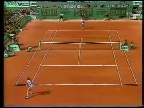 low tempo ball 89 Chang vs  Lendl