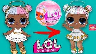 НОВИНИ! ГЛЕМ ГЛІТТЕР Лол сюрприз ГЛАМУРНІ ляльки ЛОЛ Лол surprise Glam Glitter Будинок ляльок