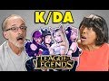 Elders React To K/DA - POP/STARS (Virtual K-Pop Group/League Of Legends)