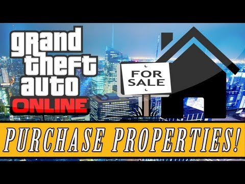 GTA 5: ONLINE | How To Buy Properties - Garages & Apartments