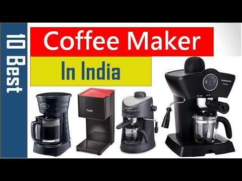 10 Best Coffee Maker in India - 동영상
