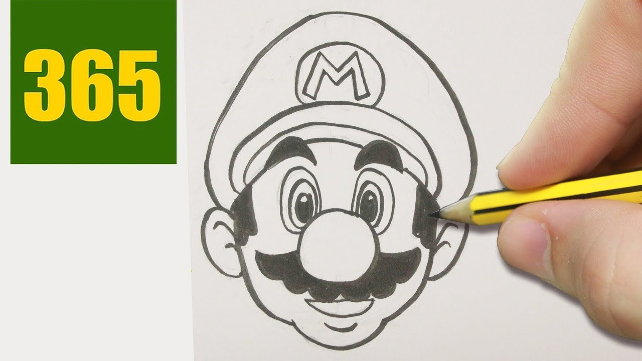 Super Mario Bros Da Colorare E Da Stampare Gratis
