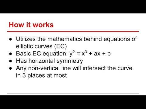 A Look Into Elliptic Curve Cryptography (ECC)