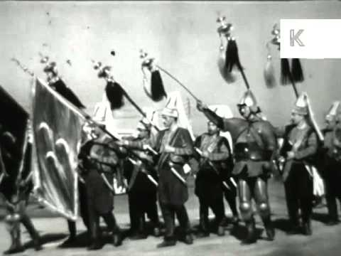 1958 Pakistan, Military Parade, President, 1950s Archive Footage