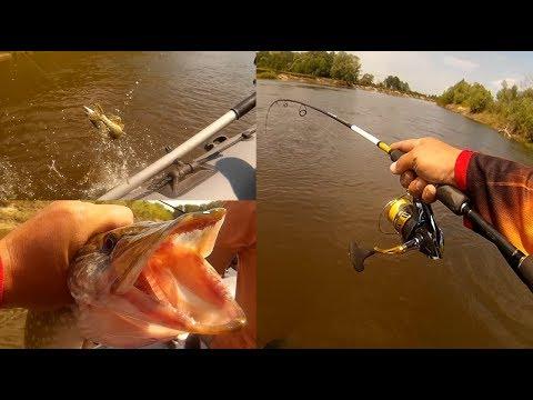 ловля щуки на воблер с лодки видео