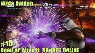 Dead Or Alive 6 PS4 Gameplay #16 (Ninja Gaiden)