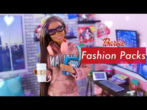 Unbox Daily: BARBIE Fashion Packs HAUL   ALL NEW Fashion & Accessories