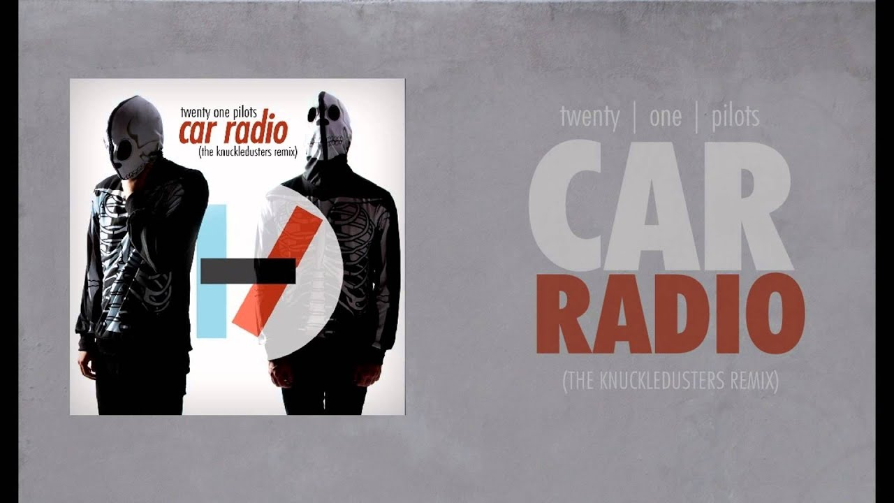 Twenty One Pilots Car Radio Cover