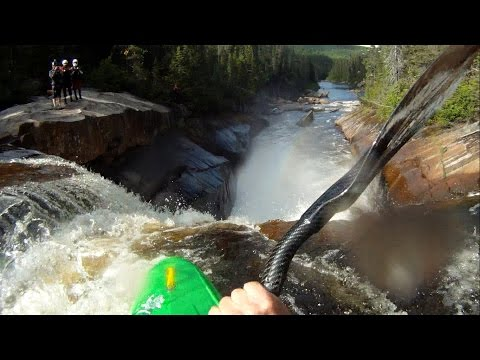 Riviere Malbaie section des chutes quebec casse cou
