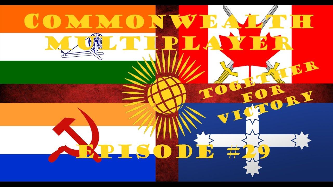 HOI 4 Multiplayer: Commonwealth Episode 29 - Australia's Bombing  Contribution