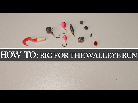 Carolina Rig - 3 Ways To Rig For The Maumee River Walleye Run 2017