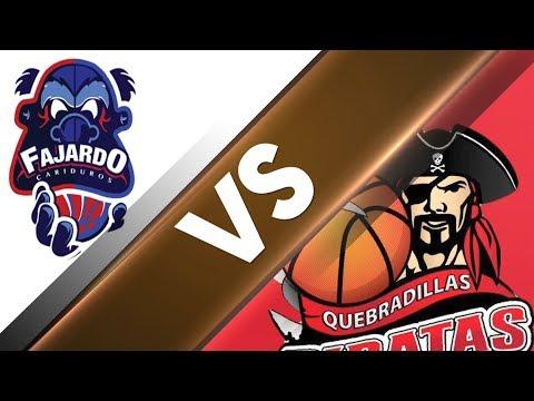 Semifinal Quebradillas vs Fajardo (7mo Juego) - BSN - 7/25/2017