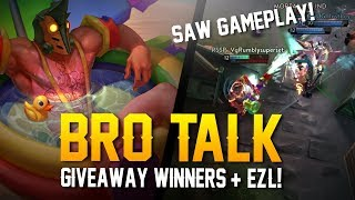 Vainglory - Bro Talk #27: GIVEAWAY WINNERS + EZL NEWS!! [Saw Gameplay]