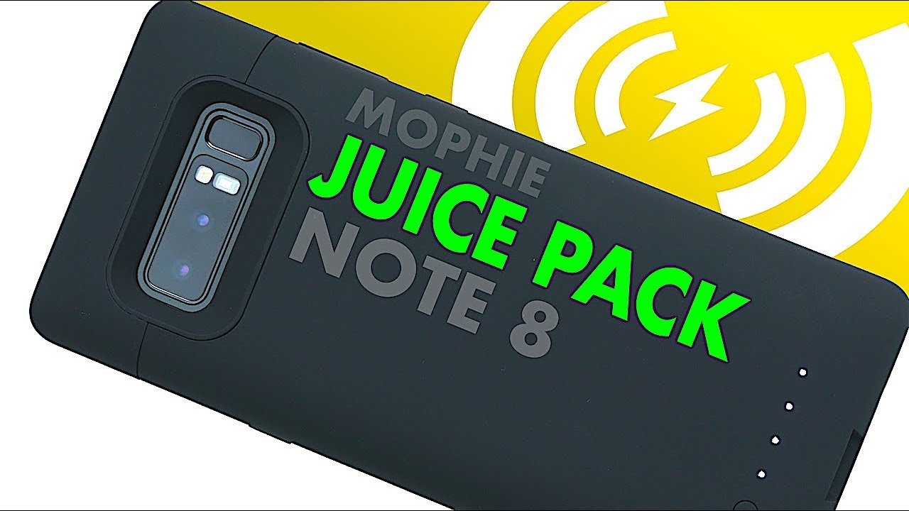 official photos f2d89 a3ee7 Mophie JUICE PACK BATTERY Case for Galaxy Note 8 | Review