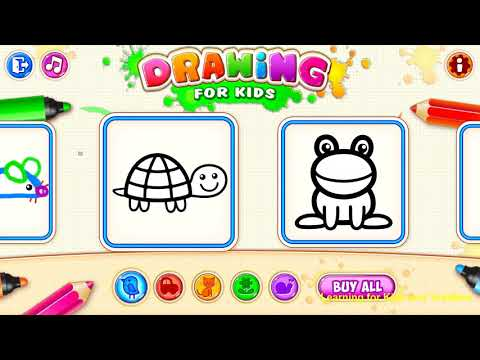 Drawing for Kids and Toddlers [Ages 8 & Under] - Android & Apple