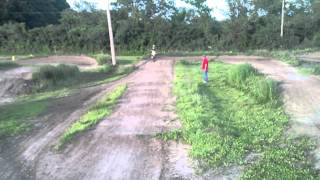 Cobra 50cc Peyton Booth practicing (7 years Old)