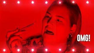 LED Lights Makeup Challenge | NikkieTutorials