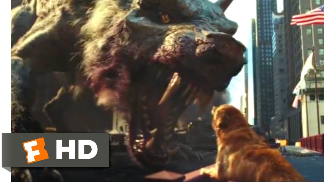 Download Rampage (2018) - Monsters vs. the Military Scene (5/10) | Movieclips