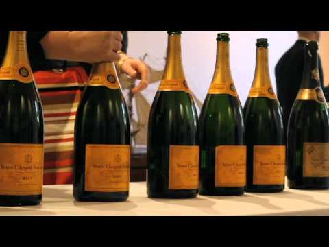 Veuve Clicquot hosts unique vertical tasting of non vintage champagne