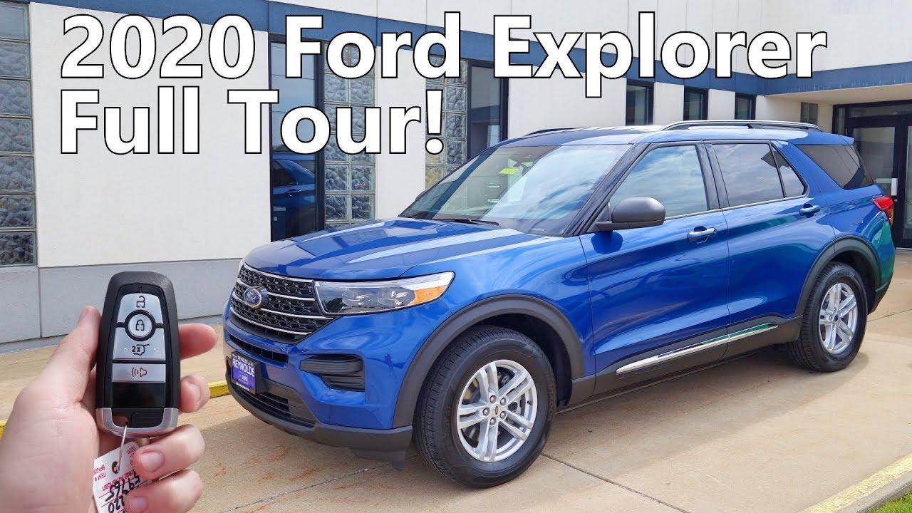 2020 Ford Explorer Xlt Full Tour Youtube