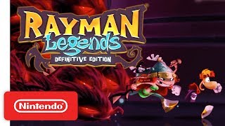 Rayman Legends Definitive Edition Launch Trailer - Nintendo Switch