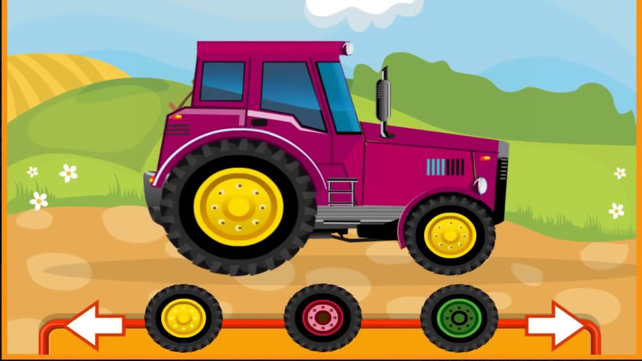 клип про трактор - 4